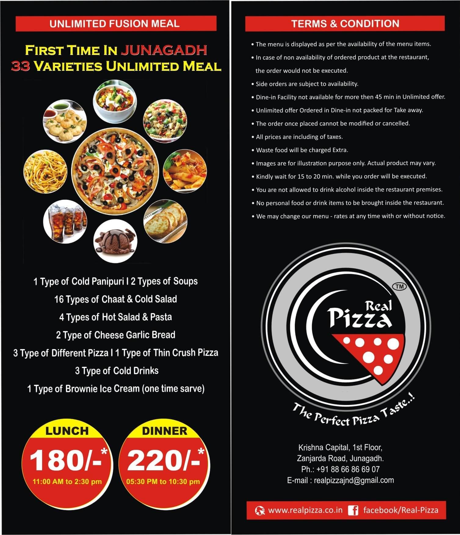 Real Pizza Junagadh