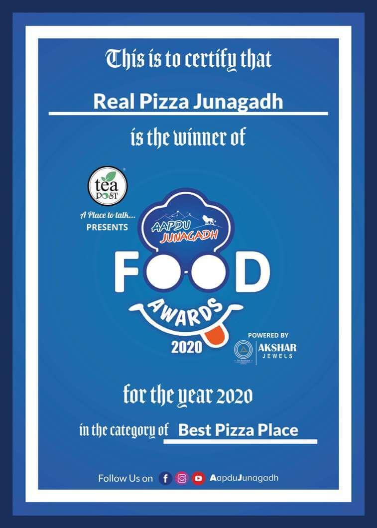 Real Pizza FA 2020 certi